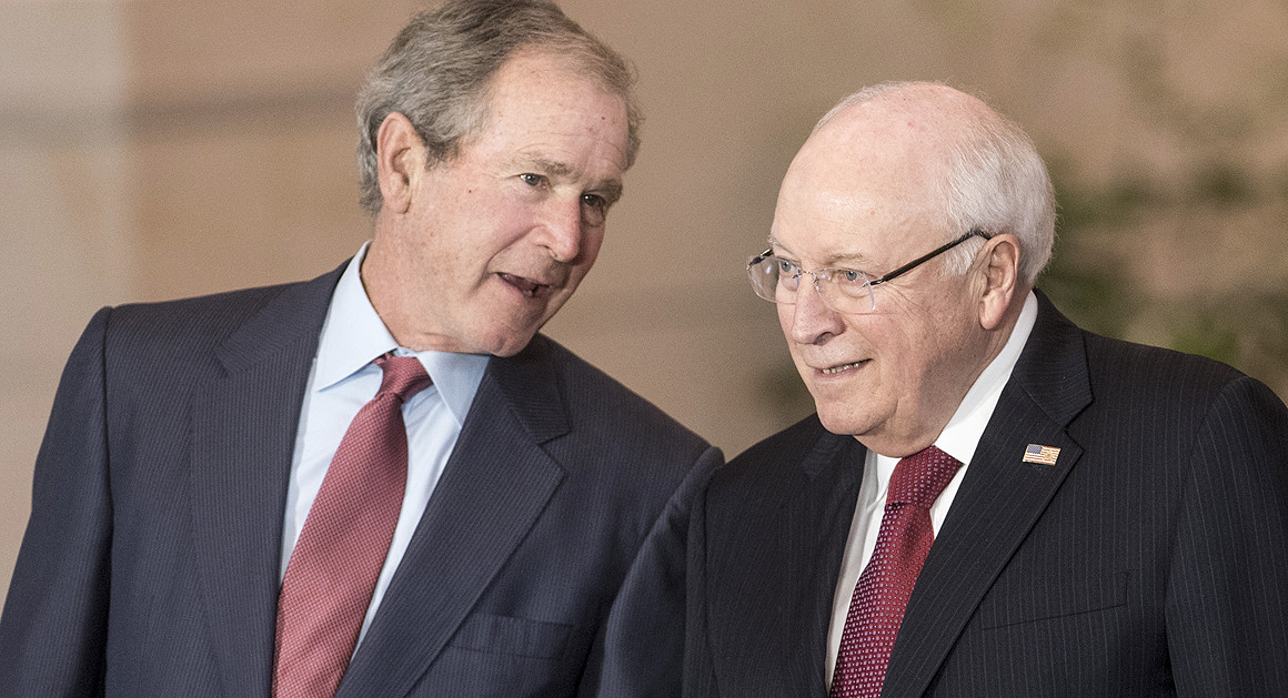Dick Cheney Is as Bad as George W. Bush