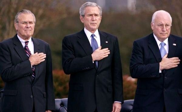 The Fighters of George W. Bush and Dick Cheney War Crimes Charge