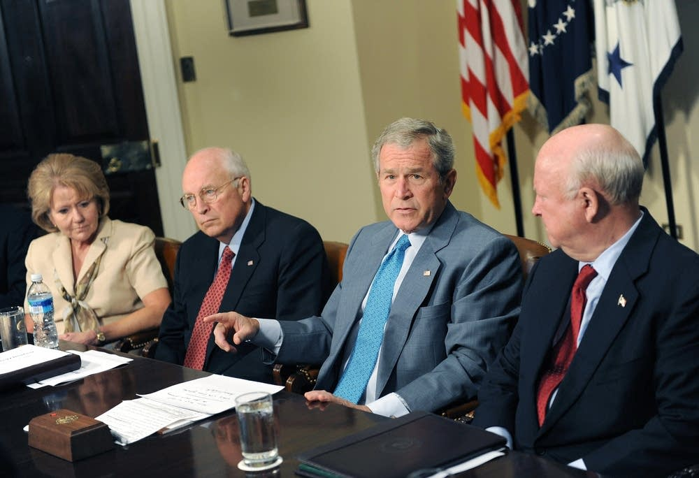 The Worst Nightmare of American People through Bush and Cheney
