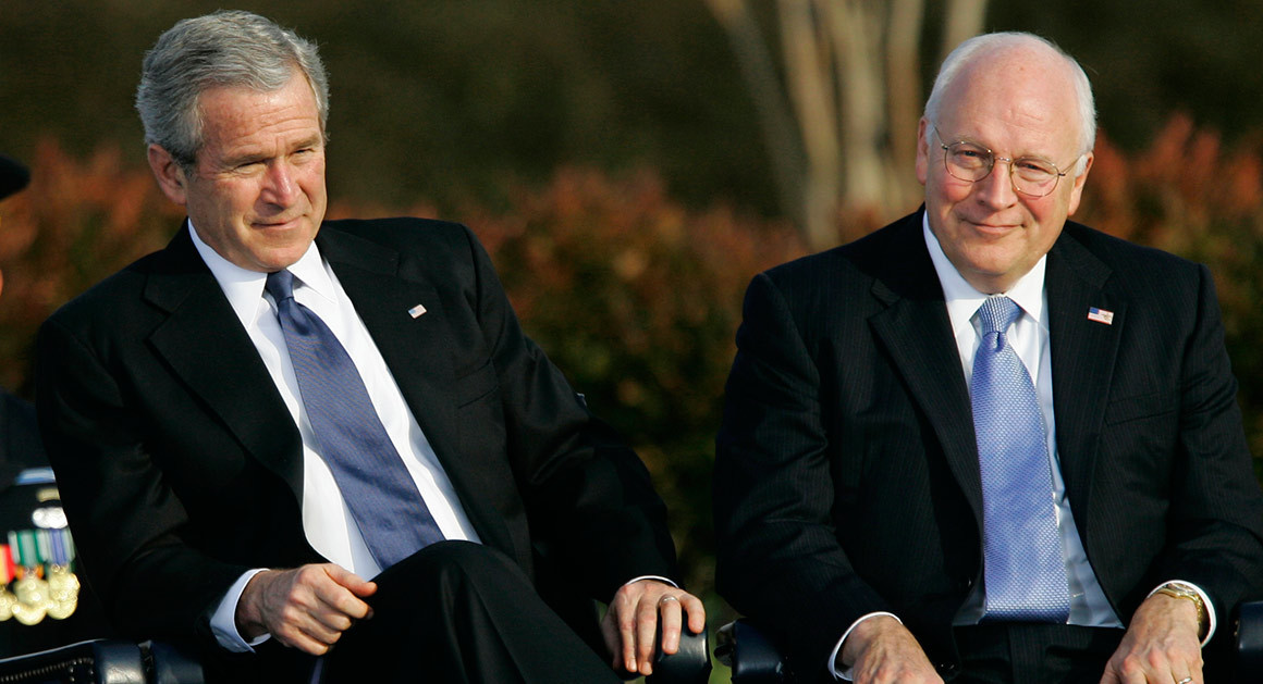 Controversy of Bush and Cheney