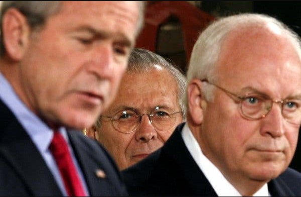 Can We Title Bush and Cheney as War Criminals?