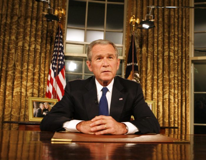 The Controversy and Crime War of George W. Bush